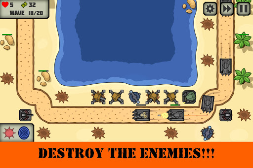 Tactical V: Tower Defense Game 1.3 screenshots 8