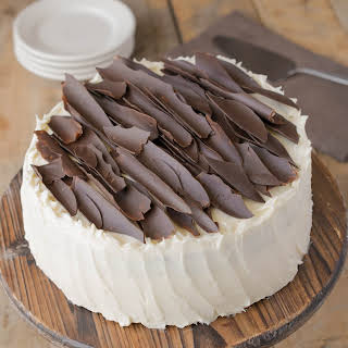 Irish chocolate cake with Baileys buttercream frosting.