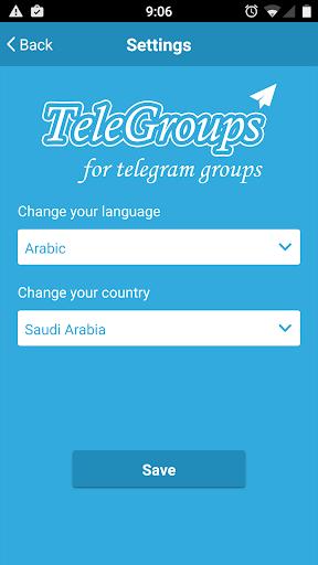 TeleGroups for Telegram Groups