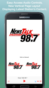 News Talk 98.7- screenshot thumbnail