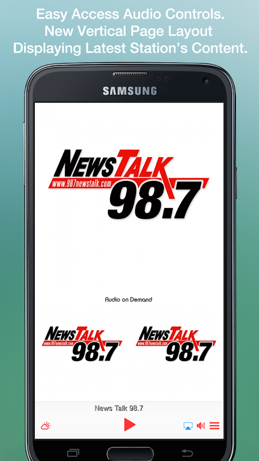 News Talk 98.7- screenshot