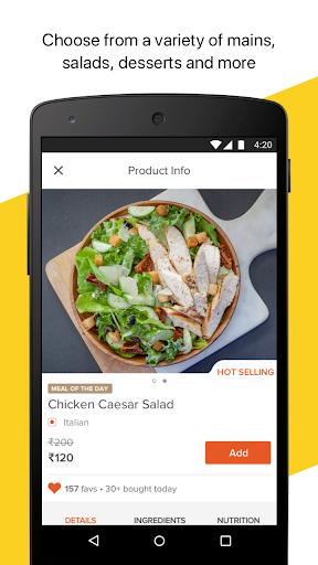FreshMenu - Food Ordering App  screenshots 6