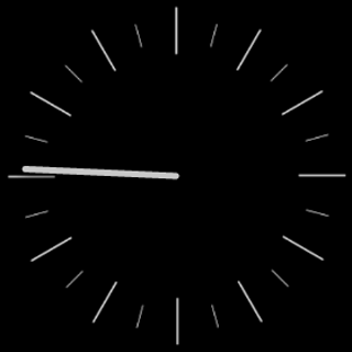 One Handed Clocks- screenshot