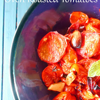 Roasted Tomatoes With Fresh Mint