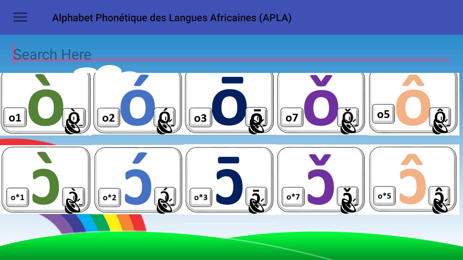 Alphabet phontique des langues africaines android apps on alphabet phontique des langues africaines screenshot biocorpaavc