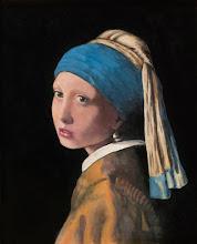 Photo: Girl w/a Pearl. Vermeer-Mudersbach