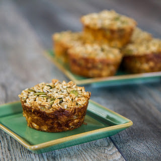Baked Ginger Oatmeal Muffins.