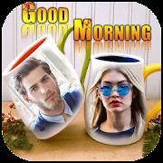 Coffee Cup Dual Photo Frames