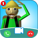 Fake Chat & Call Mustach_BALDI icon