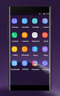 Theme for Samsung galaxy note 8 HD Launcher 2018 2