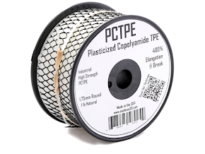 Taulman Natural PCTPE Nylon TPE Co-Polymer - 1.75mm (1lb)