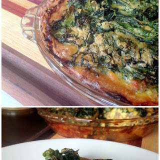 Crispy Kale & Sausage Quiche with Sweet Potato Crust {Paleo & Whole30 Compliant}