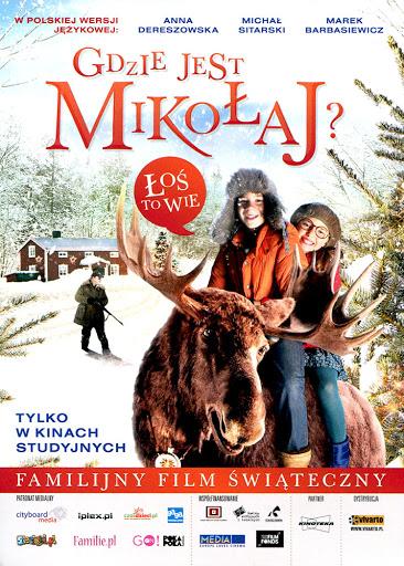 Przód ulotki filmu 'Gdzie Jest Mikołaj?'