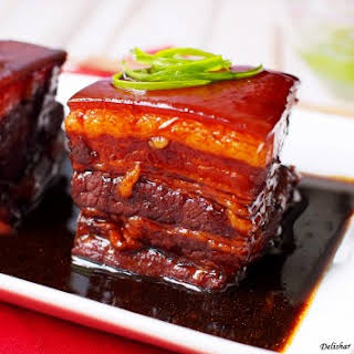 Dong Po Rou (Braised Pork Belly).