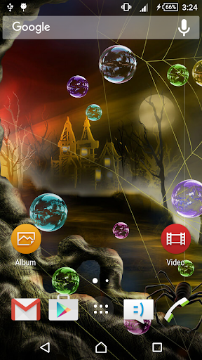 Halloween Bubble LiveWallpaper