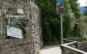 Eingang zur Katharinenruhe Oberstdorf Allgäu