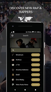 Rapchat: Social Rap Maker, Recording Studio, Beats - náhled