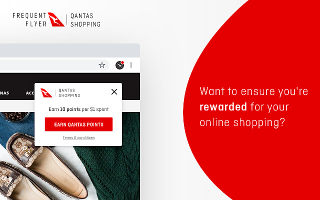 Qantas Shopping Points-Prompter