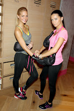 Photo: EXCLUSIVE-New York, NY - 01/15/2013 - Victoria's Secret Angels Kick Off a Healthy & Fit New Year with Victoria's Secret Sport-PICTURED: Erin Heatherton, Adriana Lima-PHOTO by: Marion Curtis/Startraksphoto.com-Filename: MC618047-Location: Victoria's Secret Herald SquareEditorial - Rights Managed Image - Please contact www.startraksphoto.com for licensing feeStartraks Photo New York, NY For licensing please call 212-414-9464 or email sales@startraksphoto.com