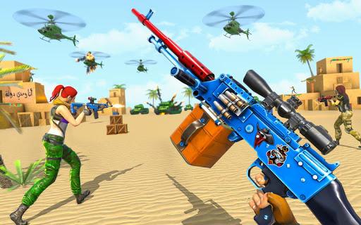 Real Commando Shooting Strike - Fps Shooting Games 1.0.0 screenshots 1