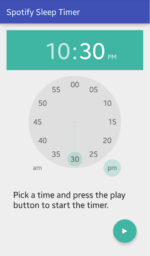 Sleep Timer for Spotify 1.0 screenshots 2