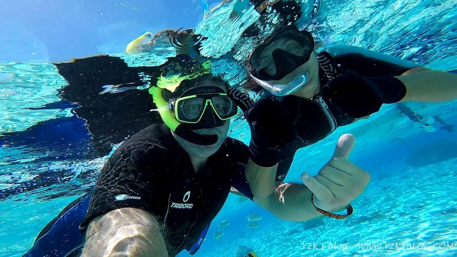 Fra uno squalo e l'altro - Bora Bora
