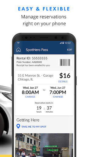 SpotHero: Find Parking Nearby screenshot