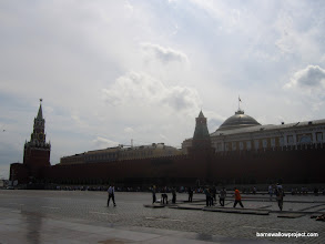 Photo: Red Square (with some guys setting up for some kind of event)