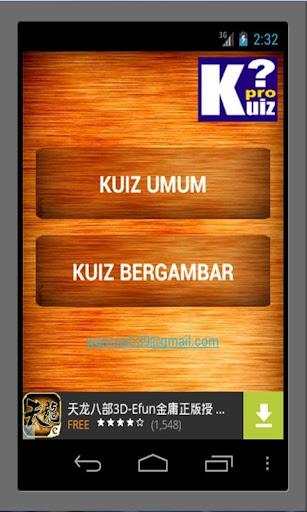 Kuiz Pro : Bahasa Arab