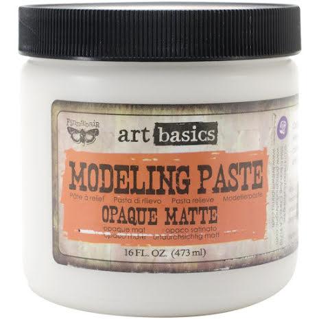 Prima  Finnabair Art Basics Modeling Paste 473ml - Opaque Matte