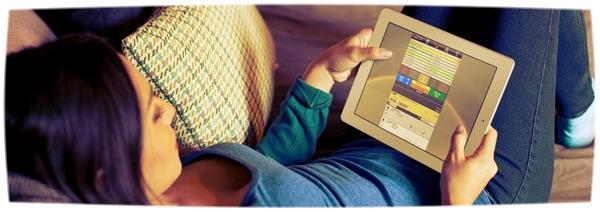 LQ Nplus1 iPad Woman Lying Down Venture Effect