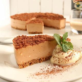 Milk Chocolate & Baileys Cheesecake.