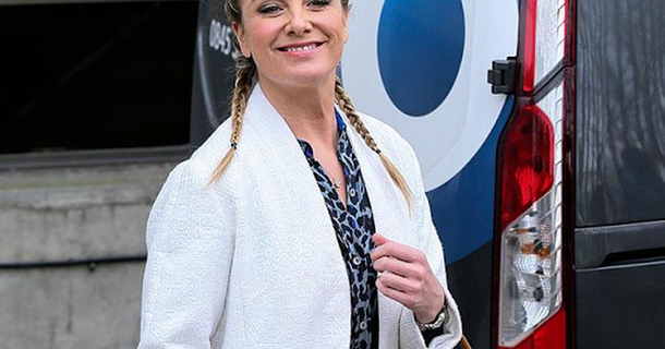 Tamzin Outhwaite finds it hard to remember her lines