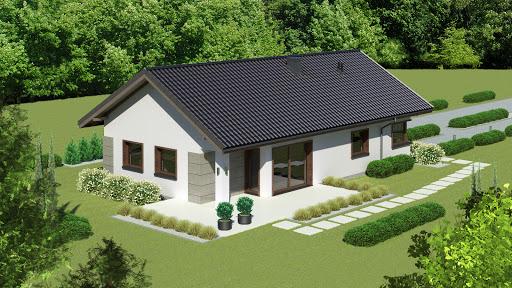 projekt Dom przy Pastelowej 15 D bis