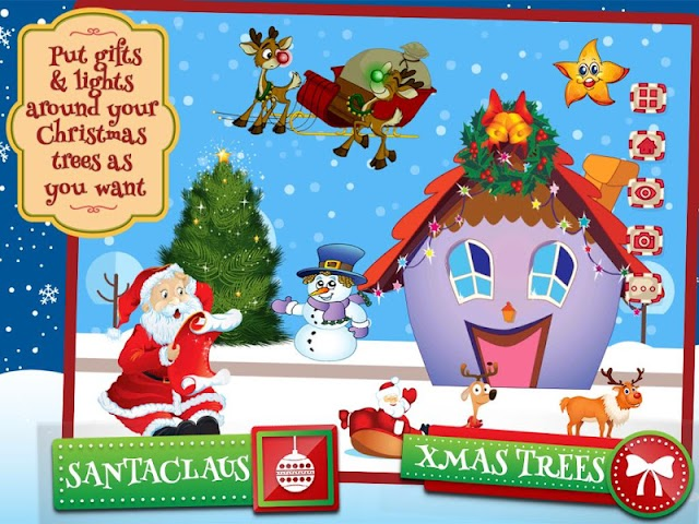 android Chrismas Scene Maker Screenshot 4