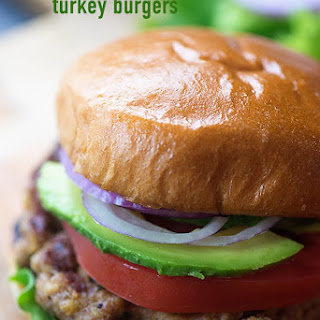 The Best Turkey Burgers.