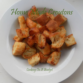 Home Made Croutons.