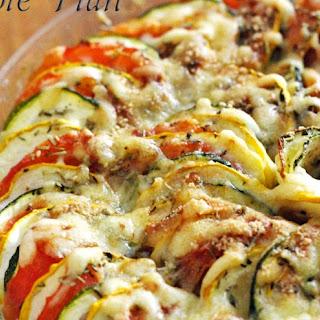 """Vegetable Tian Make one 8""""round pan"""