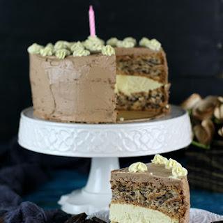 Tender Egg Whites Cake with Vanilla Buttercream