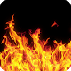 Photo effects theme fire
