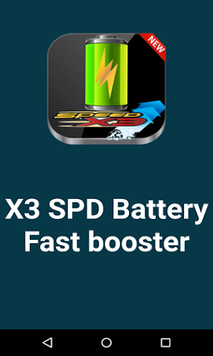 X3 SPD Battery Fast Booster
