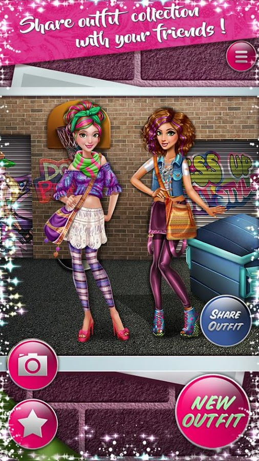 Dress up Game: Dolly Hipsters- screenshot