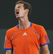 Photo: INDIAN WELLS, CA - MARCH 10:  Andy Murray of Great Britain reacts after losing a point to Guillermo Garcia-Lopez of Spain during the BNP Paribas Open at the Indian Wells Tennis Garden on March 10, 2012 in Indian Wells, California.  (Photo by Jeff Gross/Getty Images)