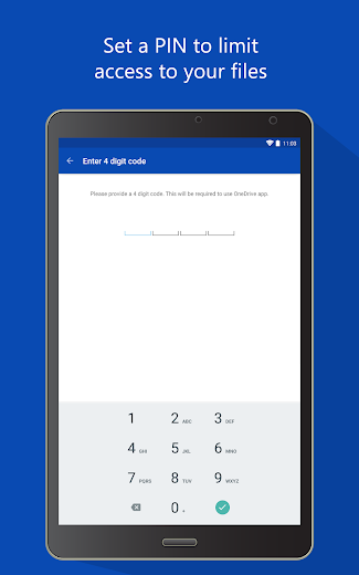 Screenshot 6 for OneDrive's Android app'