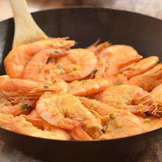 Salted Egg Shrimp Recipes.