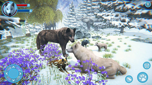 Arctic Wolf Family Simulator: Wildlife Games 5 screenshots 6