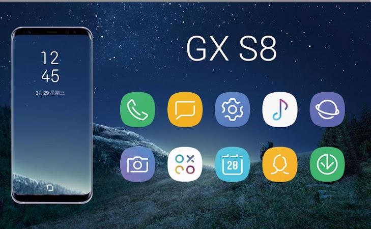 GX S8 Icon Pack v1.0.0