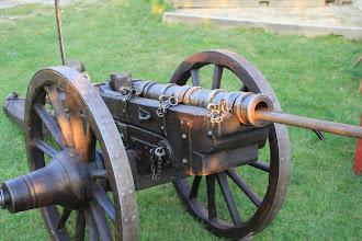 Photo: Funkční replika děla, konec 15. století