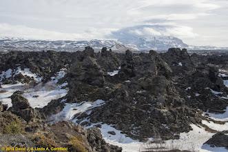 Photo: Lava field