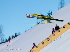 Photo: World Cup Ski flying Vikersund HS225 - Simon Ammann